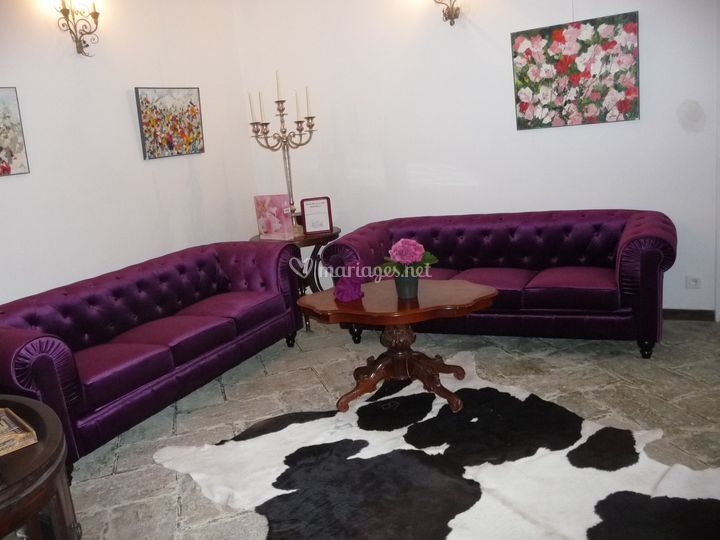 La salle violette