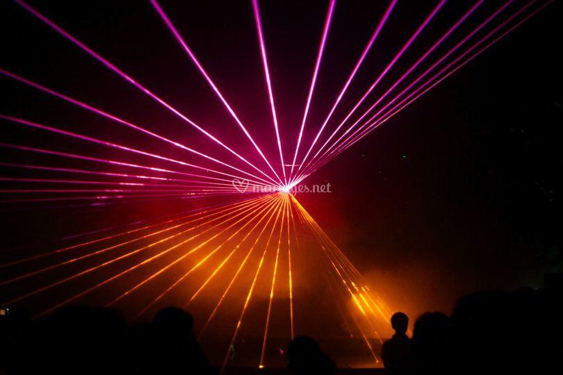 Effet laser