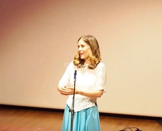 Chanteuse lyrique - Animation mariage