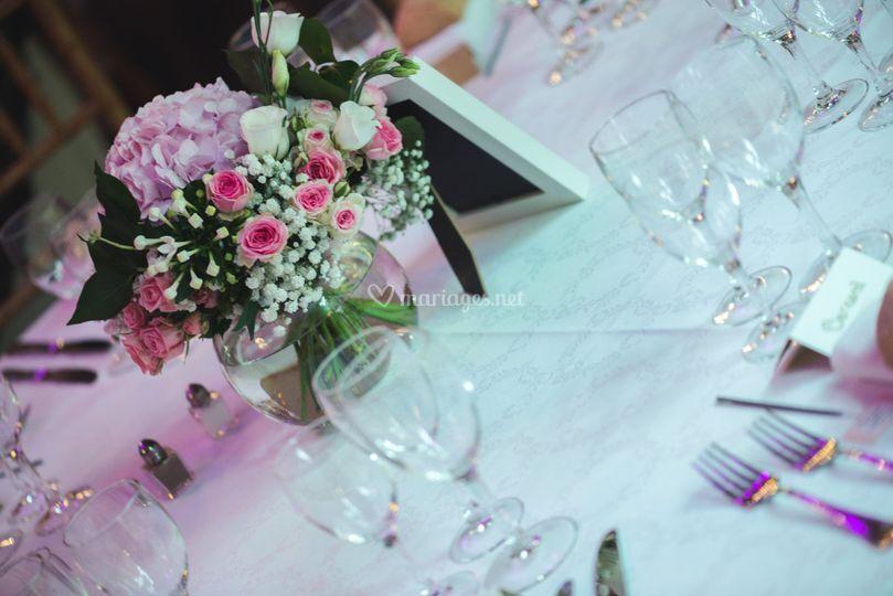Proposition décor table