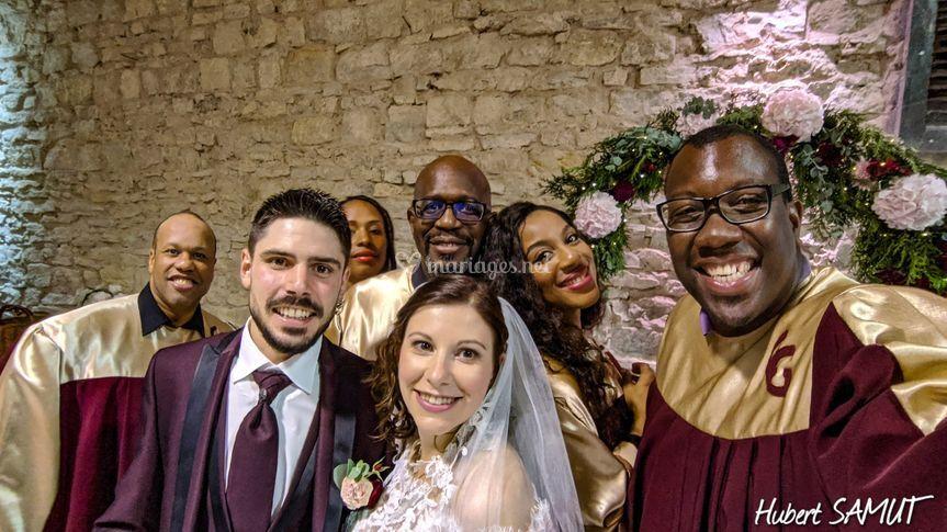 Mariage avec Gospel Church