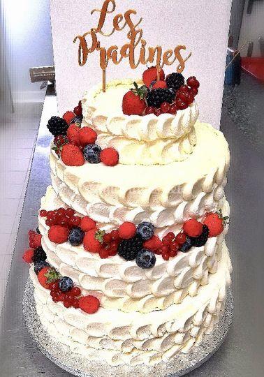 Naked cake (chantilly)