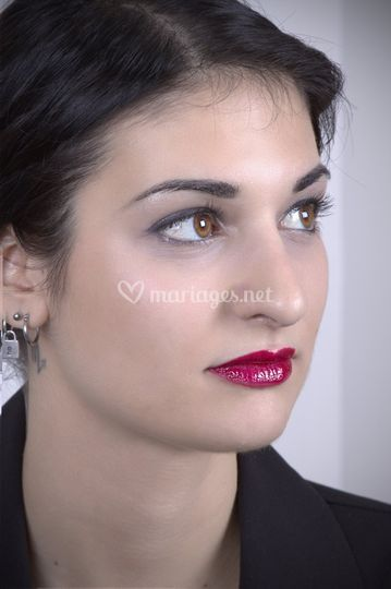 Maquillage pin-up