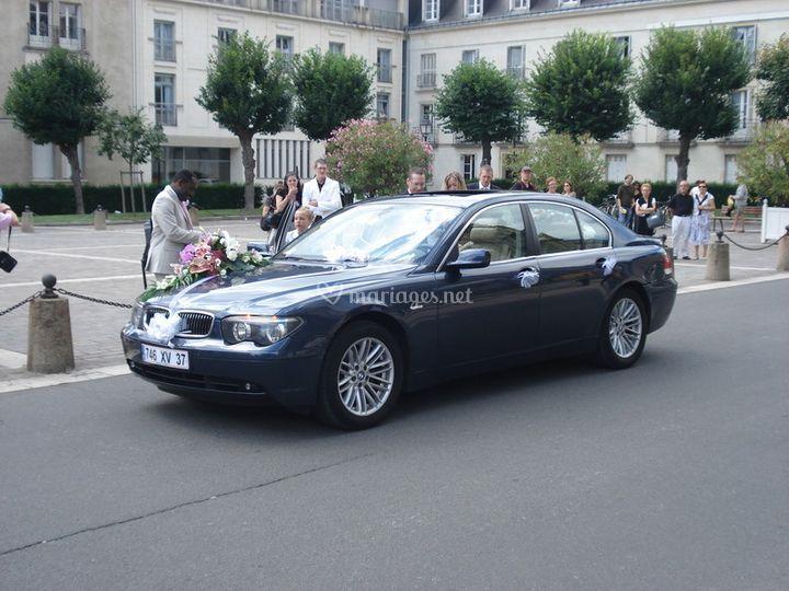 BMW série 7 luxe