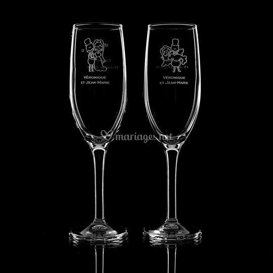 Personnalisation de chaque verre