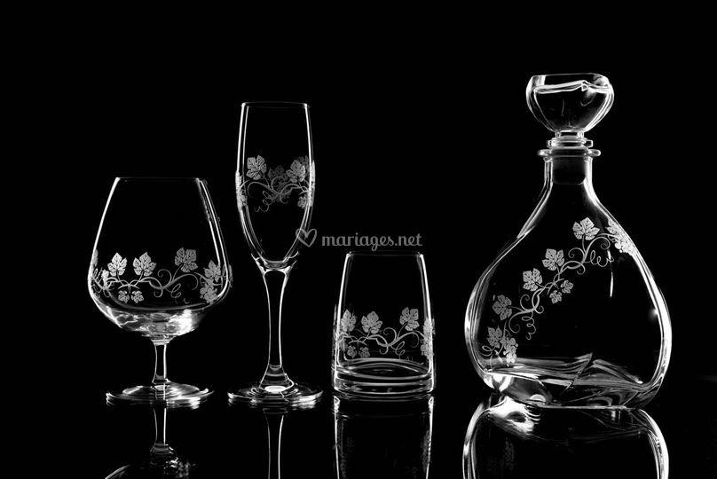 Cadeaux de mariage cristal