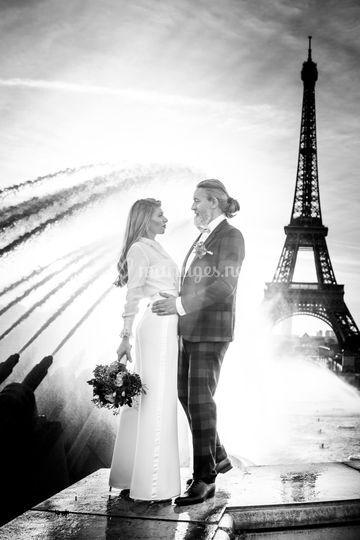 Séance d'engagement à Paris