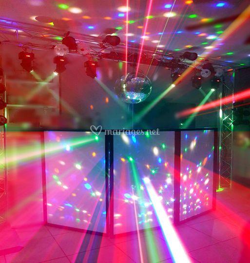 Lumières disco