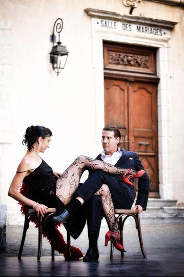 Couple à Briançon