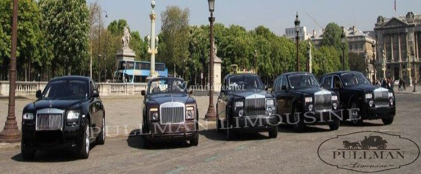 Flotte Rolls Royce