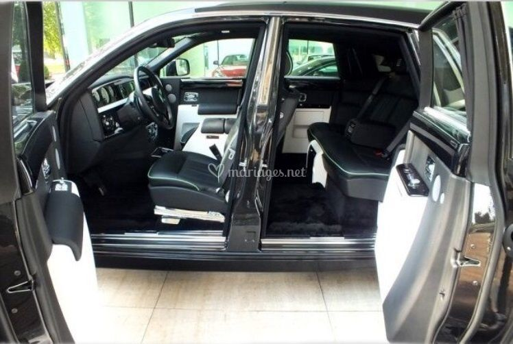 Intérieur Rolls Royce Phantom