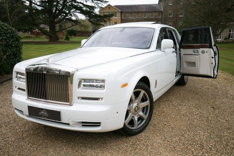Mariage Rolls Royce Blanche