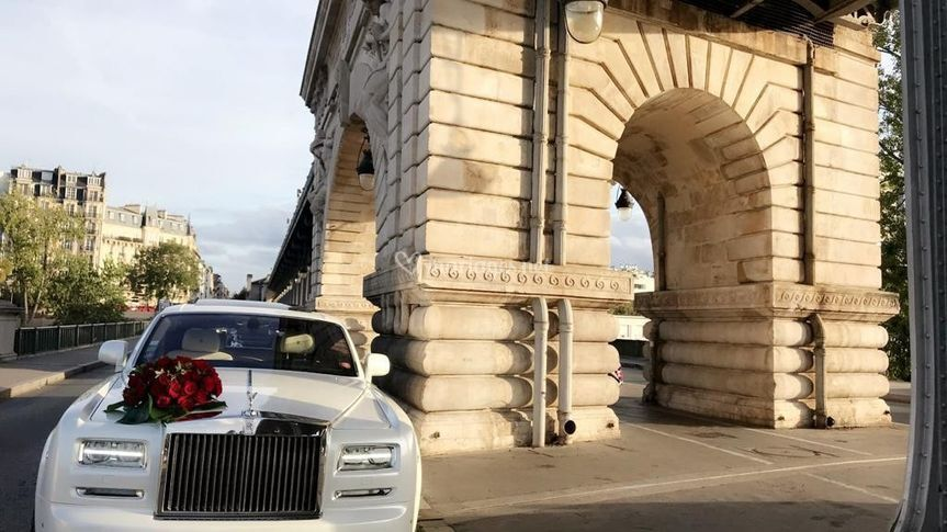 Rolls Royce Phantom Blanche