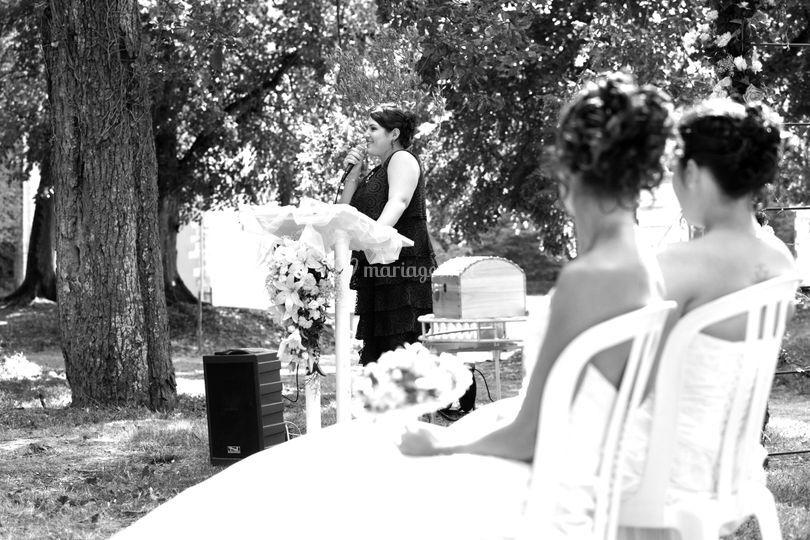 Cérémonie laïque - mariage