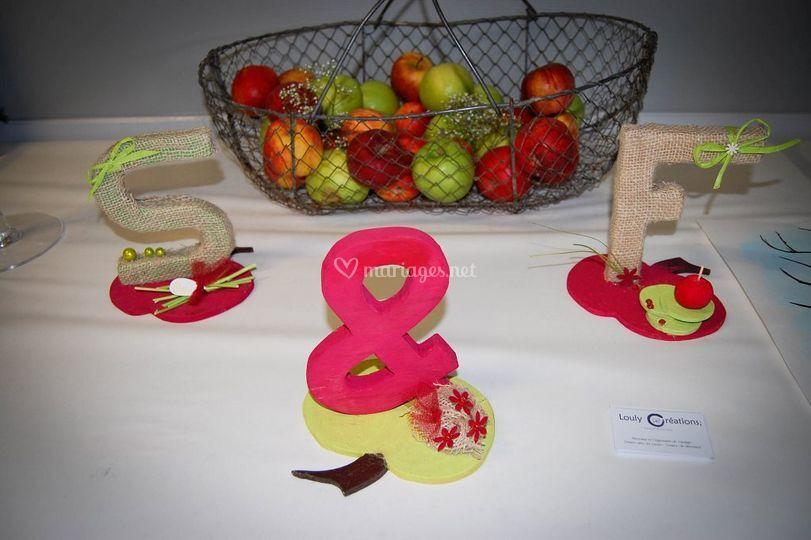 S&f - table des mariés