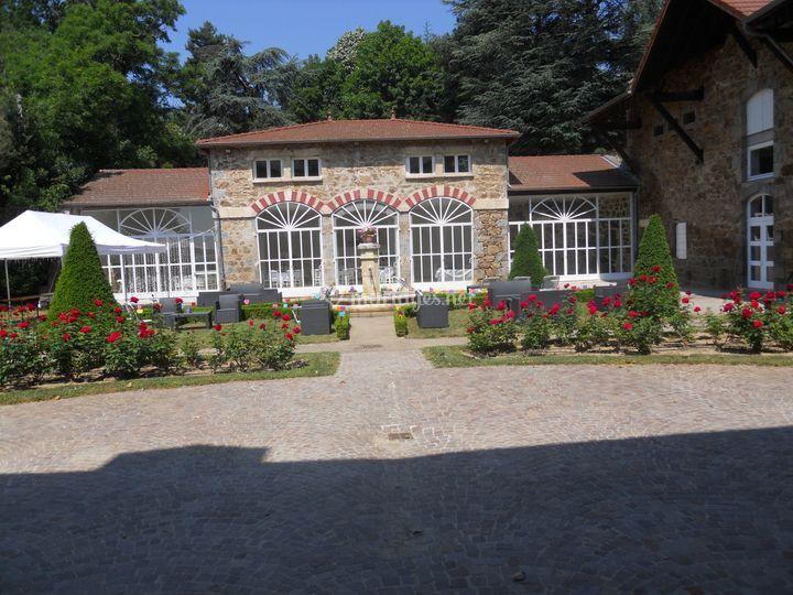 L'Orangerie en fleurs