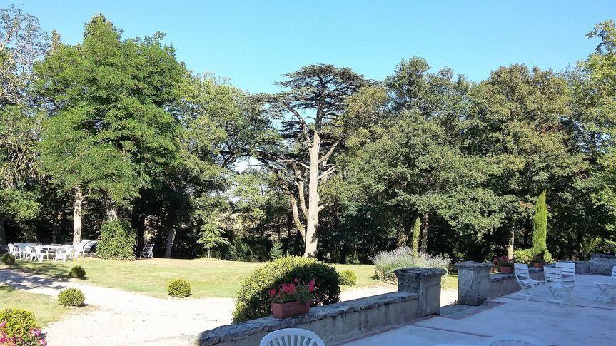 Parc arboré centenaire