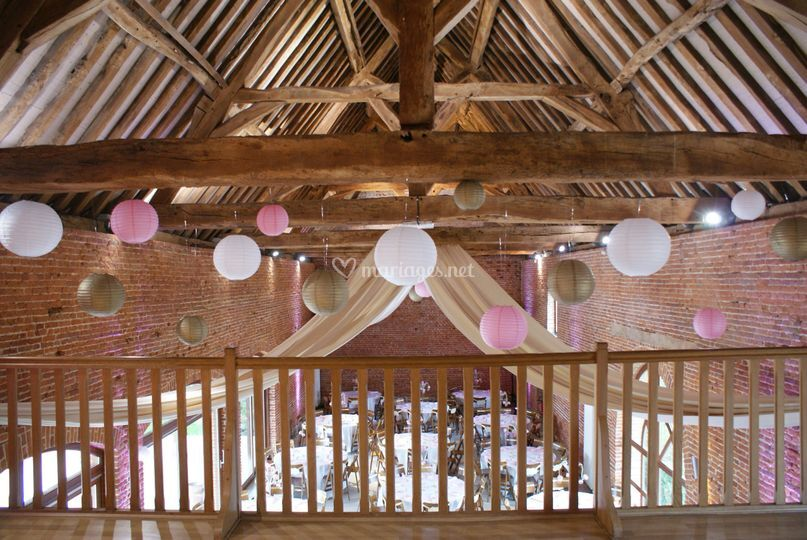 La mezzanine de la grange de granges de bosc grimont photo 12 - Les granges de bosc grimont tarif ...