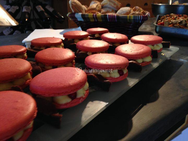 Macaron façon tartelette