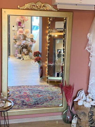 La cabine robe de mariée