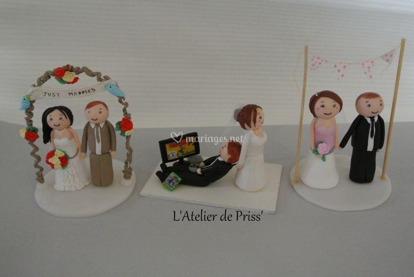 L'Atelier de Priss' - figurines