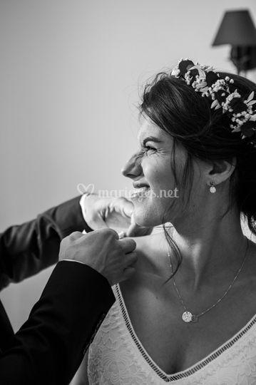 Mariage Noir & Blanc