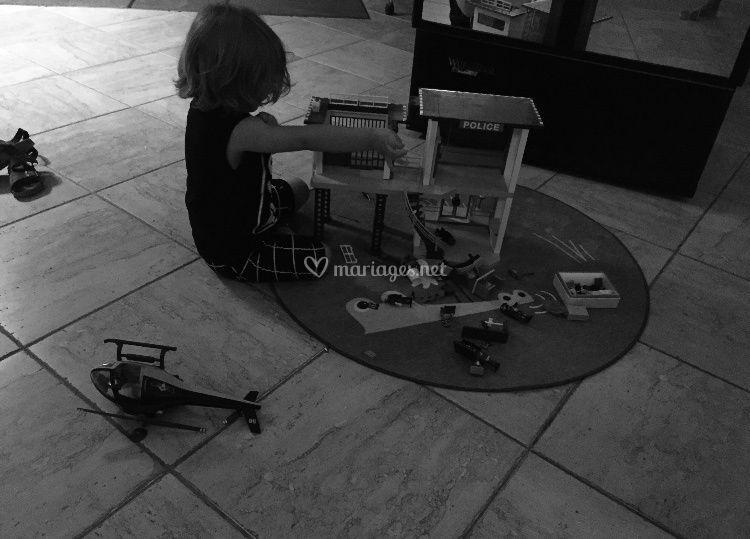 Pôle commissariat Playmobil