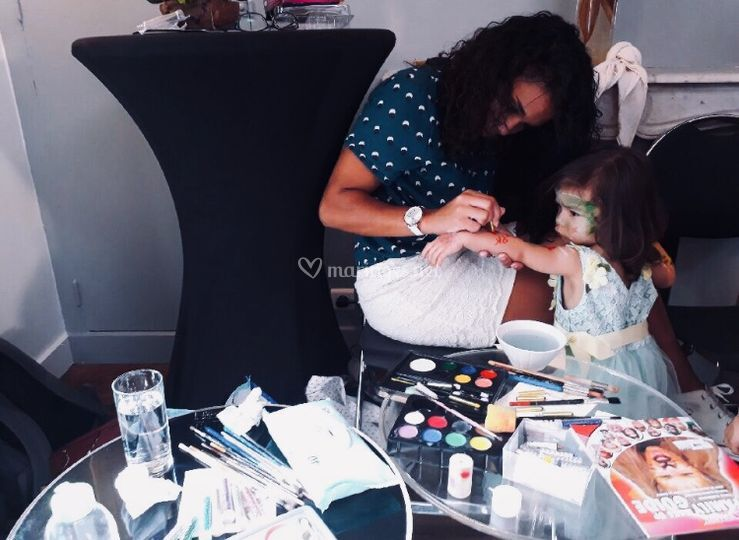Atelier maquillage princesse