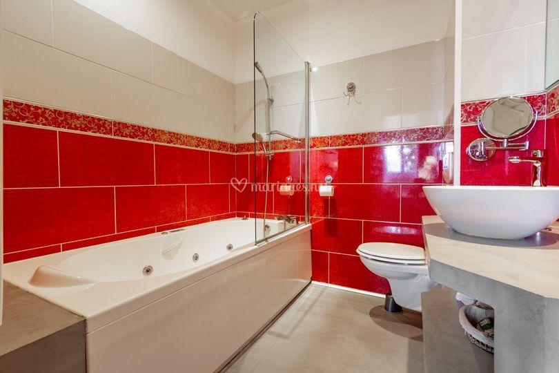 Salle de bain chambre nuptiale