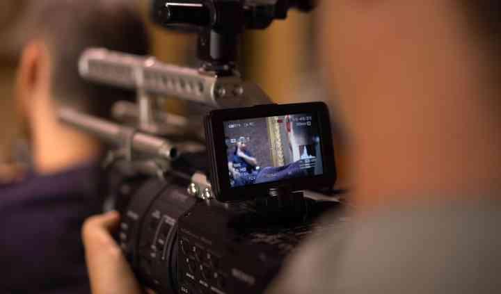 Camera-man Tournage