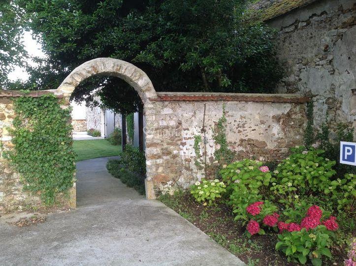 Arche sur terrasse