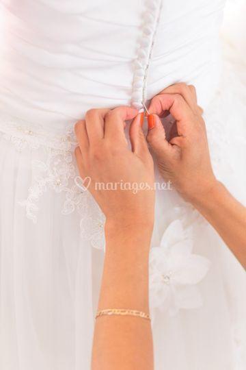 Sélection de la robe