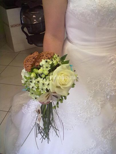 Bouquet blanc chocolat