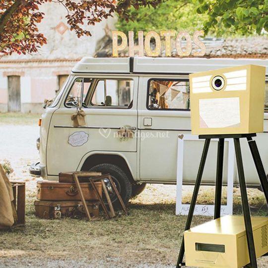 Vintage Selfie Booth