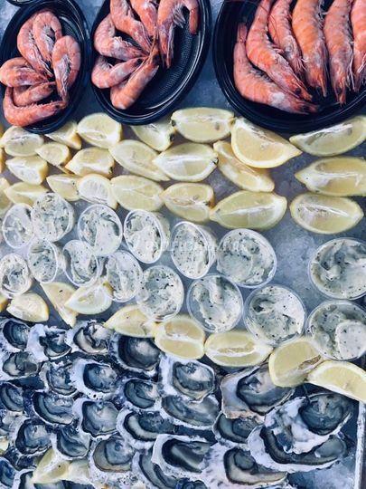 Banquet de coquillages