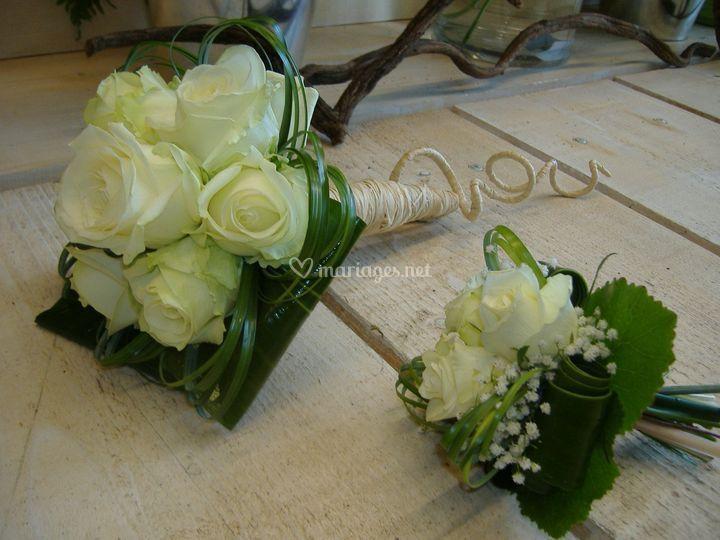 Bouquets de mari