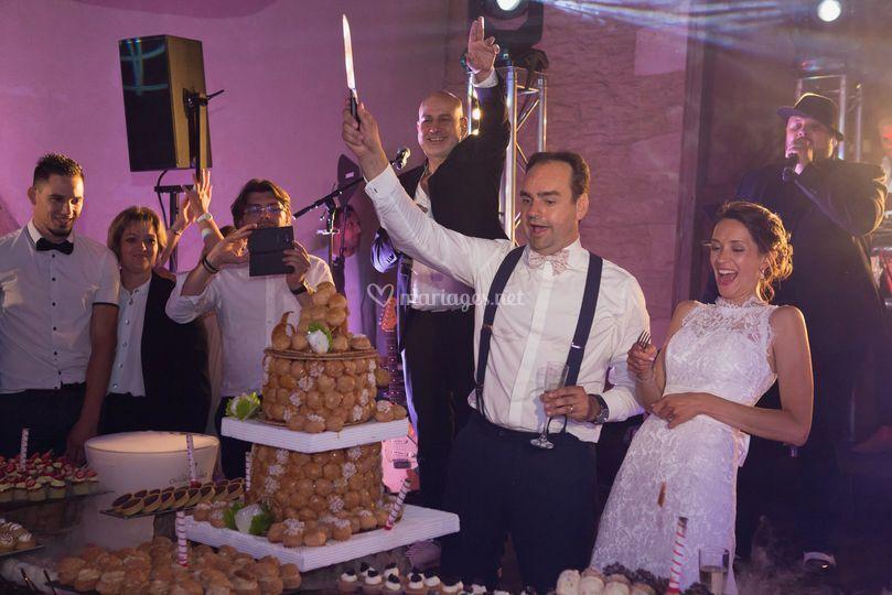 Soirée mariage chateau de vaux