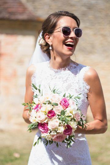 La mariée aux lunettes