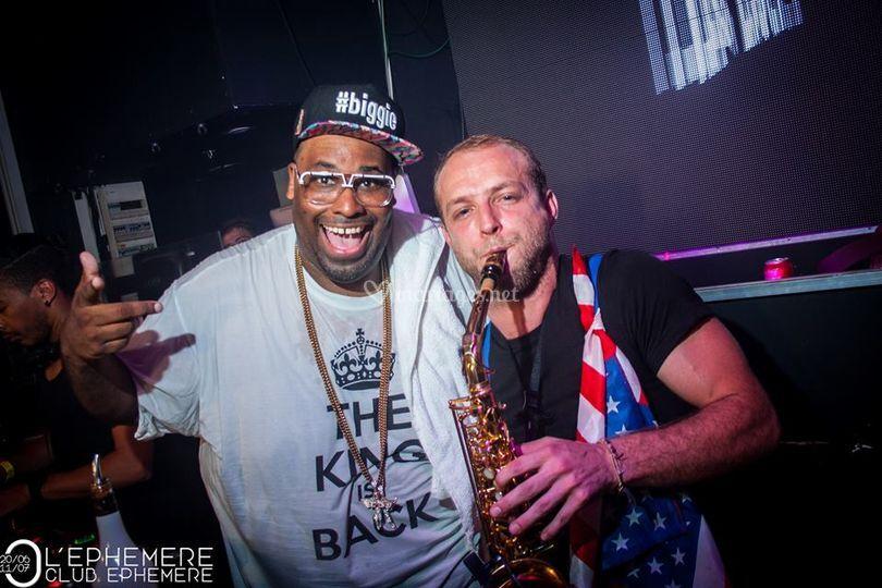 Big Ali avec Tonio is Kenan