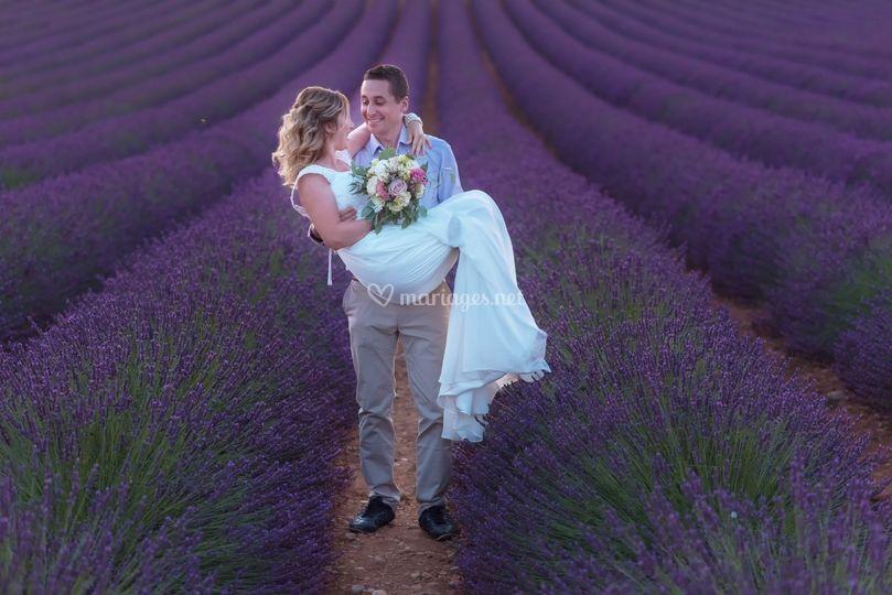 Mariage Valensole