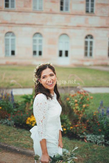 La mariée à la mairie