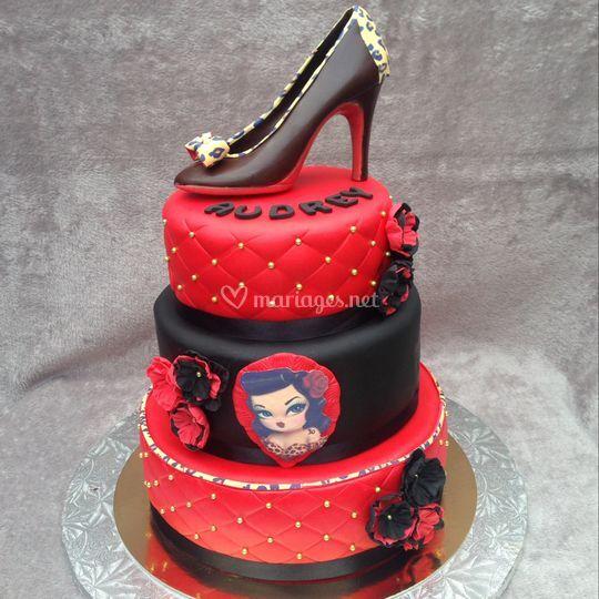 Pin'up cake