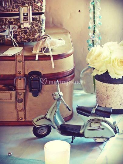 Thème voyage vintage