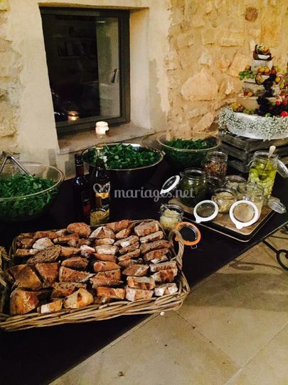 Buffet fromage complet