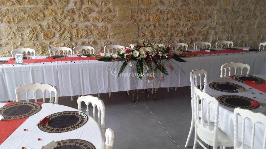 Chai - Réception mariage