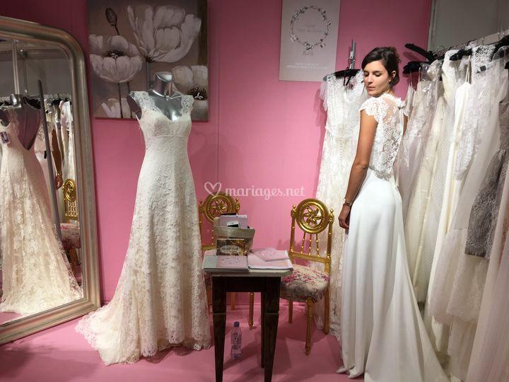 Au Salon du mariage de Paris