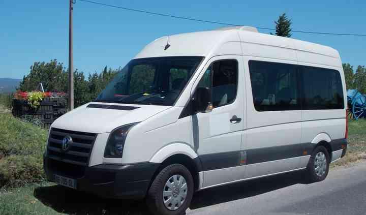 Minibus 9 places TPMR