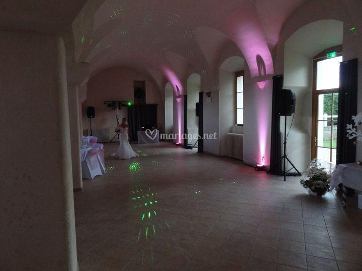 Sonorisation pour 100 invités