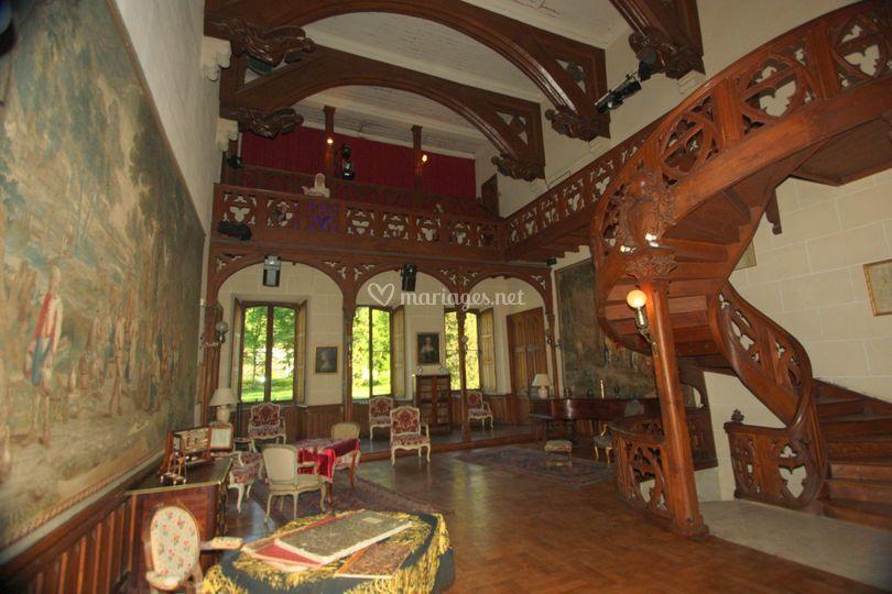 Hall de réception château