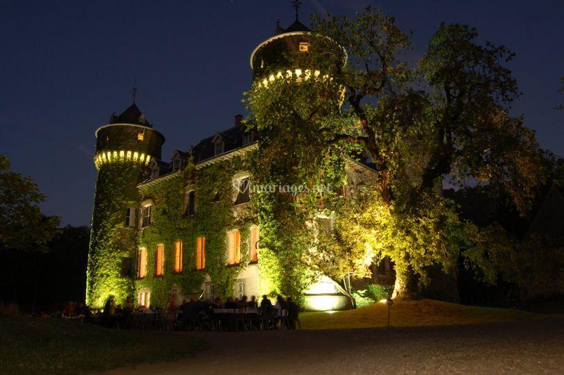 Illumination sur Château de Sédaiges